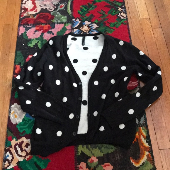Urban Outfitters Sweaters Mens Polka Dot Sweater Poshmark